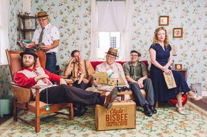 Clyde Bisbee & The Wheelhouse Revelers.