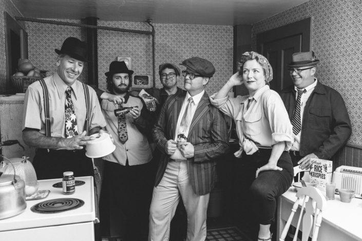 Clyde Bisbee & The Wheelhouse Revelers